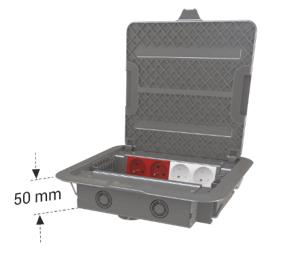 DKF 5 modüler priz kutusu
