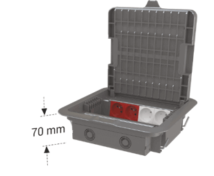 DKF 7 modüler priz kutusu
