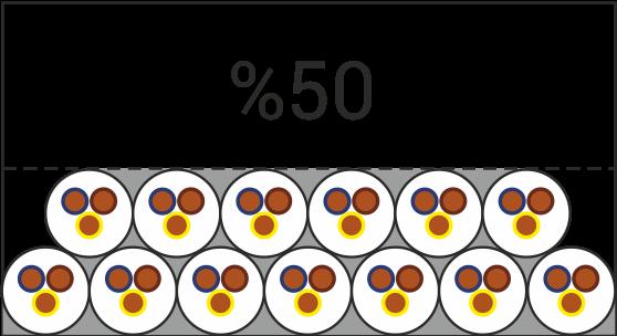 %50 kanal kapasitesi